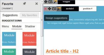 Creez Vos Templates Joomla Et Themes Wordpress