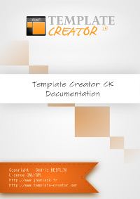 Template Creator CK documentation