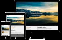 responsive design joomla template