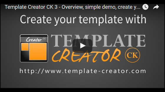Cr ez vos templates joomla et th mes wordpress for Joomla template creator open source